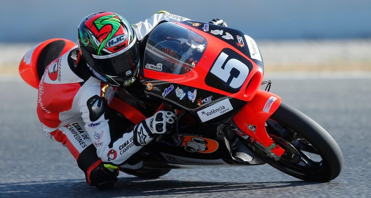 Jaume Masià se estrenará este fin de semana en el Mundial de Moto3