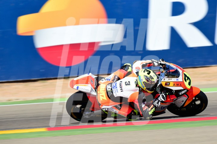 Lukas Tulovic, Teammotofans.com, #YD, Circuito Motorland Aragón, Moto2,