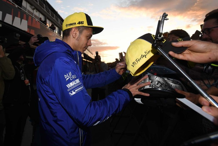 Valentino Rossi, Circuit Comunitat Valenciana, Teammotofans.com