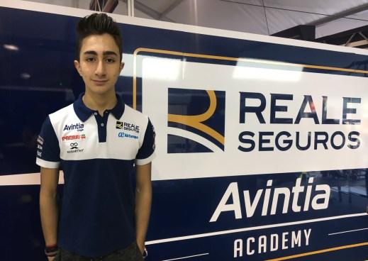 Andrea Cavaliere, Reale Avintia Academy