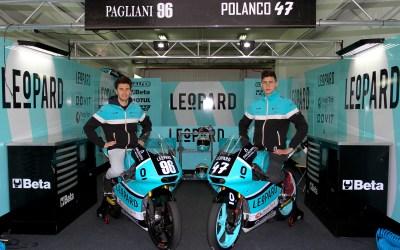 Polanco y Pagliani defenderán los colores del Leopard Junior Team en 2018