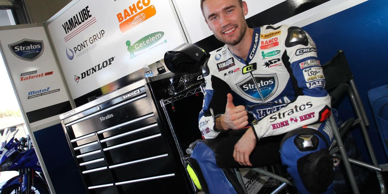 Niko Mäkinen, actual campeón de Open1000 RFME CEV, renueva con Yamaha Stratos