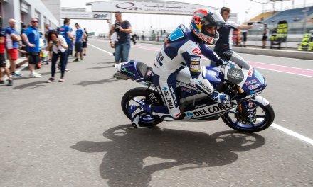 Jorge Martín lidera los entrenamientos libres de Moto3 en Qatar