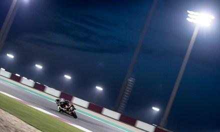 El Tech3 MotoGP ya rueda en Qatar
