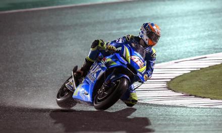 Positivo Test de invierno para el Suzuki Ecstar MotoGP