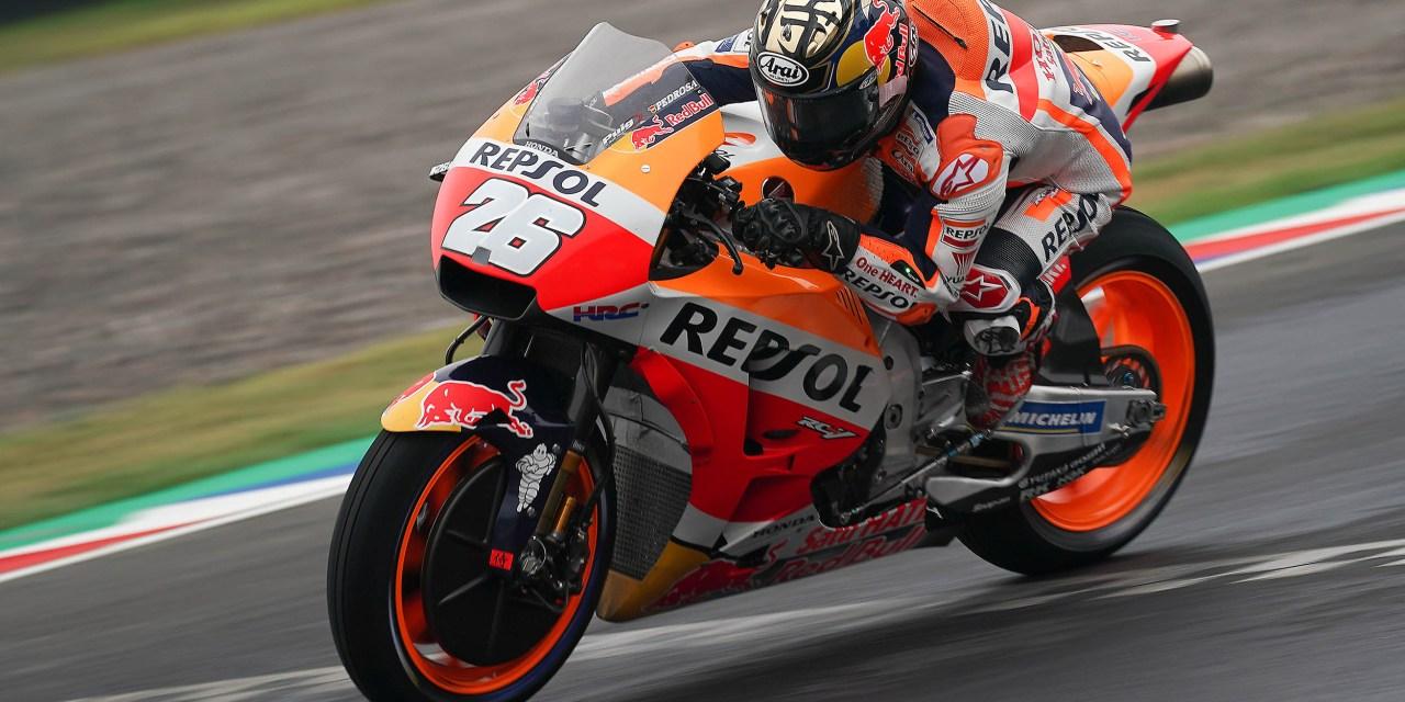 Dani Pedrosa acaricia la pole y saldrá en segunda posición