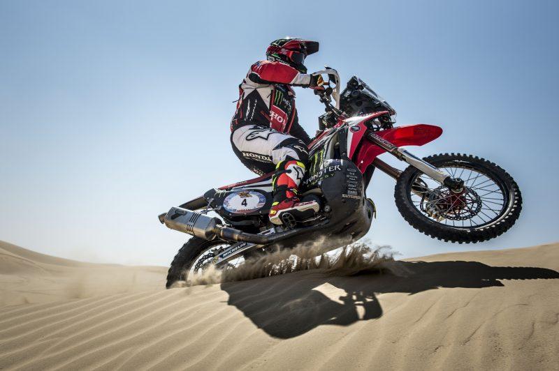 El Monster Energy Honda Team, en Marruecos para luchar por el Merzouga Rally