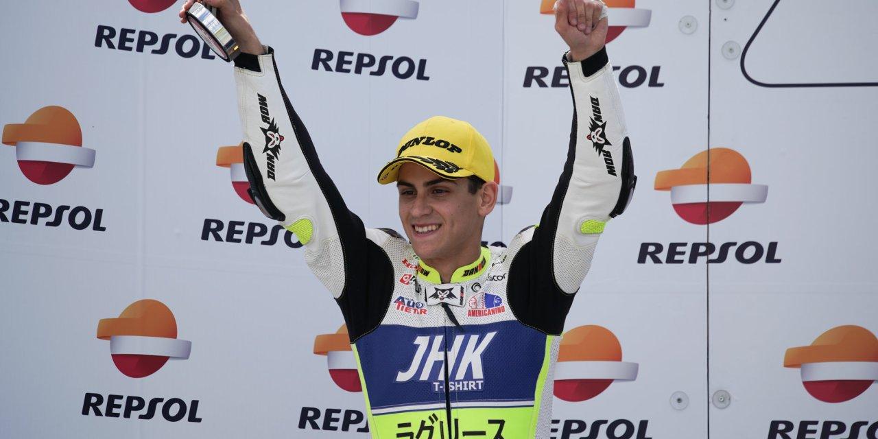 Primer podio de la temporada para Víctor Rodríguez y el LaGlisse Academy