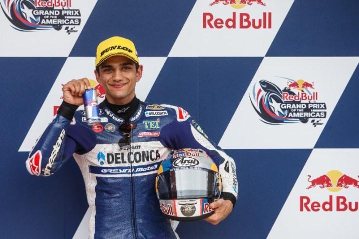 Jorge Martín, Del Conca Gresini Moto3, Circuito de Austin