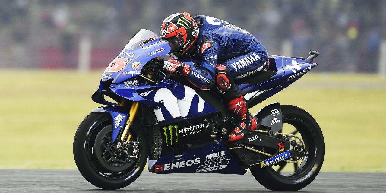 Viñales y Rossi saldrán desde la 3ª y 4ª fila en Termas de Río Hondo