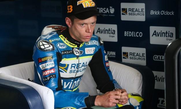 Grave lesión de Tito Rabat en Silverstone