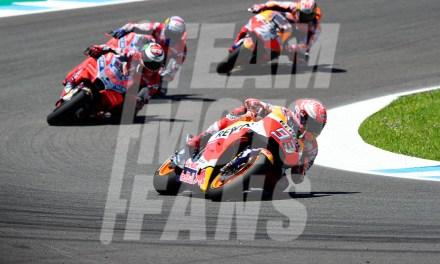 MotoGP Jerez, Márquez, ¡las alas del campeón!