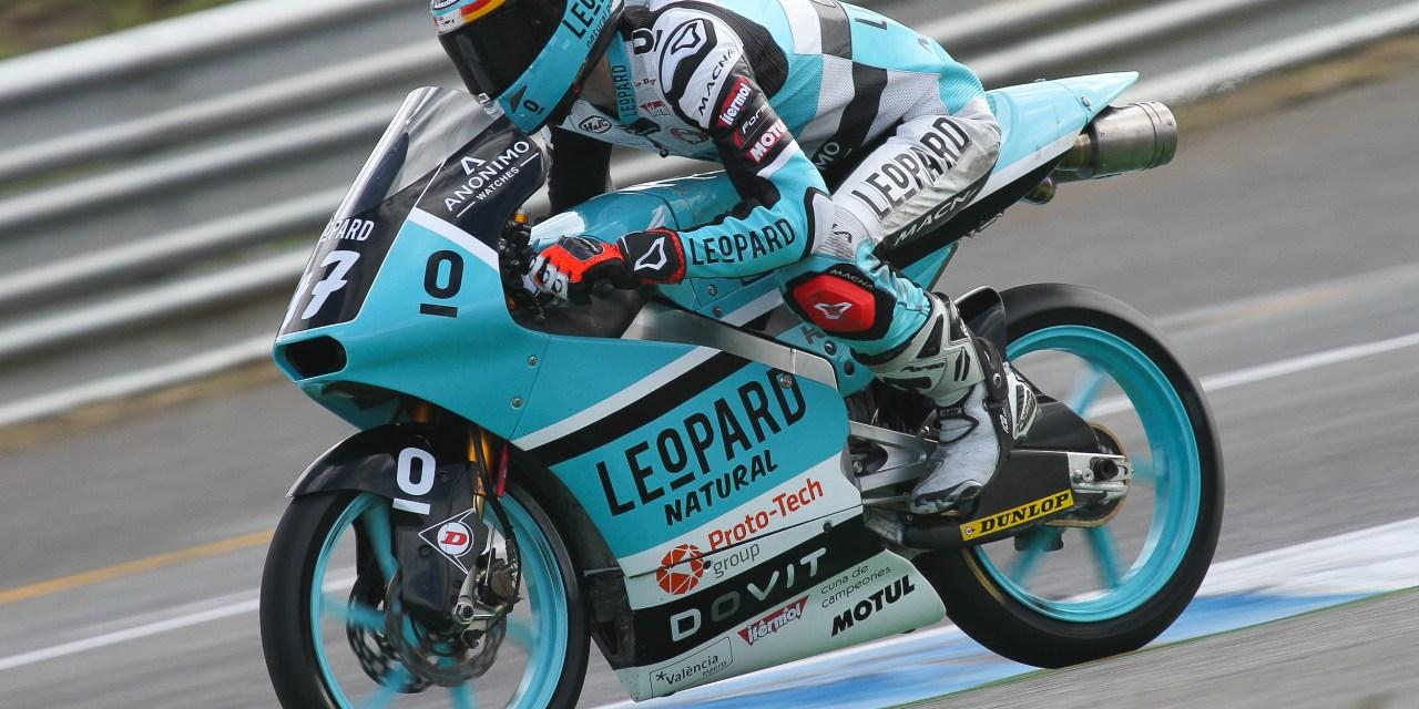 El Leopard Junior Team pone rumbo a Le Mans con el retorno de Aarón Polanco