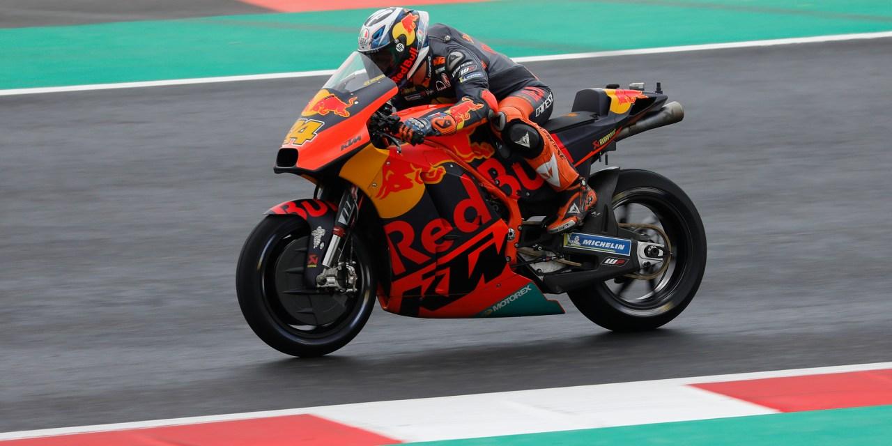 Aprilia, Suzuki y KTM ruedan en el primer día de test de MotoGP