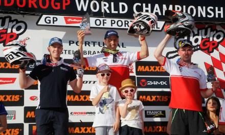 Victoria de Nambotin y podios en E3 y E1 para GasGas en Portugal