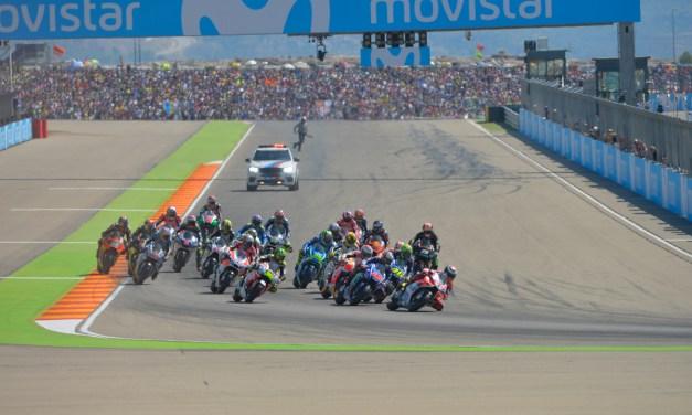 Arranca la cuenta atrás del Gran Premio Movistar de Aragón de MotoGP