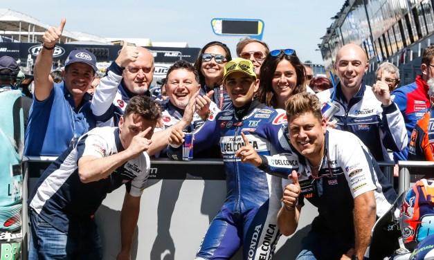Jorge Martín consigue una nueva pole en Francia