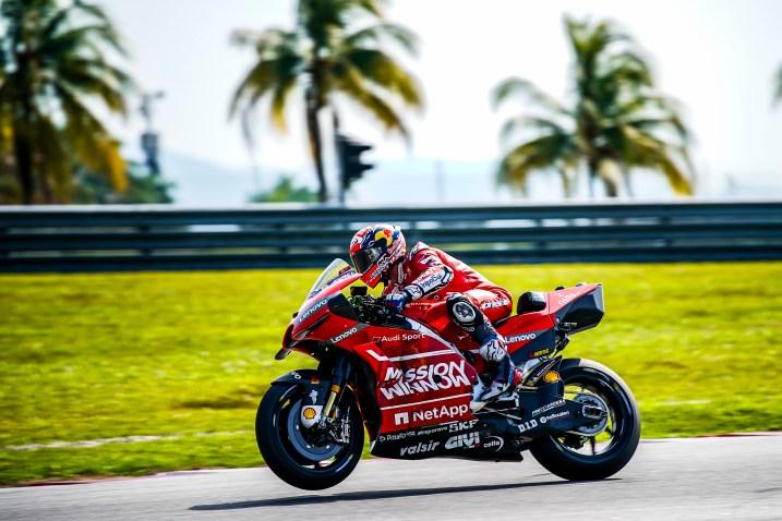Andrea Dovizioso, Mission Winnow Ducati