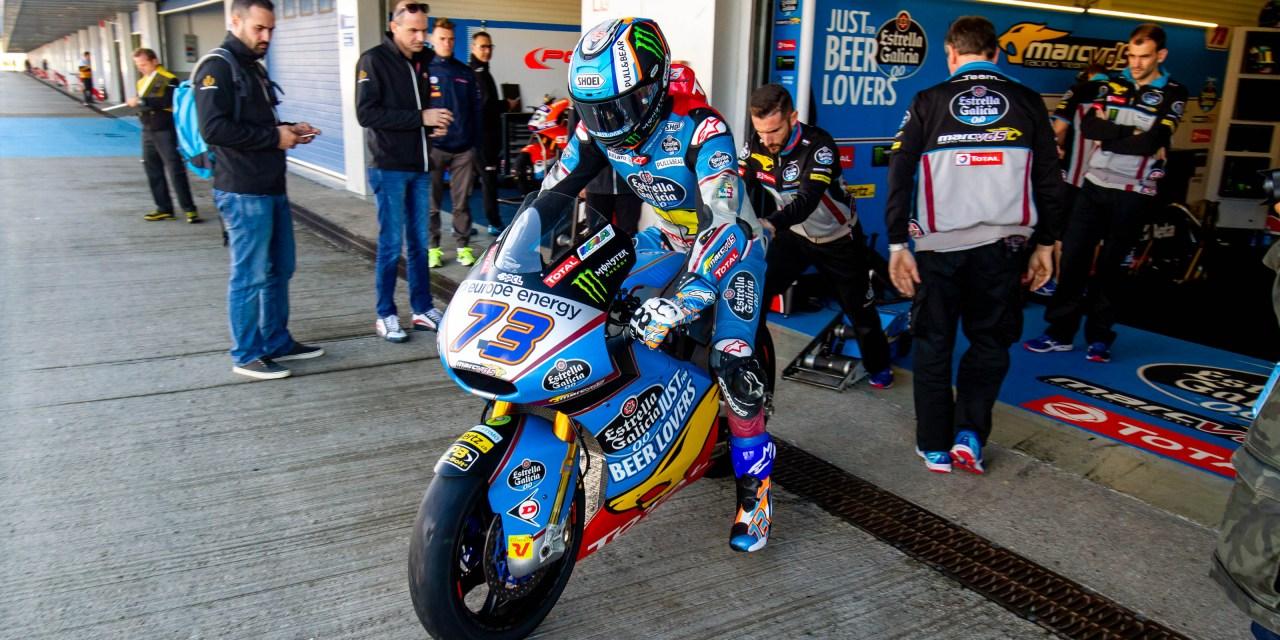 Equipos del mundial de Moto2 y Moto3 rodarán lunes y martes de la semana próxima en el Circuito de Jerez-Ángel Nieto
