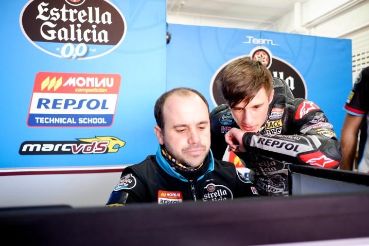 Sergio García Dols, Team Estrella Galicia 0,0 Moto3