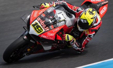 El novato en WSBK Álvaro Bautista el más rápido con su nuevo equipo Aruba.it Racing – Ducati