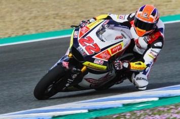 Sam Lowes, Test Jerez