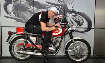 Regis Laconi inaugurará en el Racing Legends el Paseo de la Fama del Circuit Ricardo Tormo