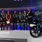 Puesta de largo del Team Sky Racing Team VR46