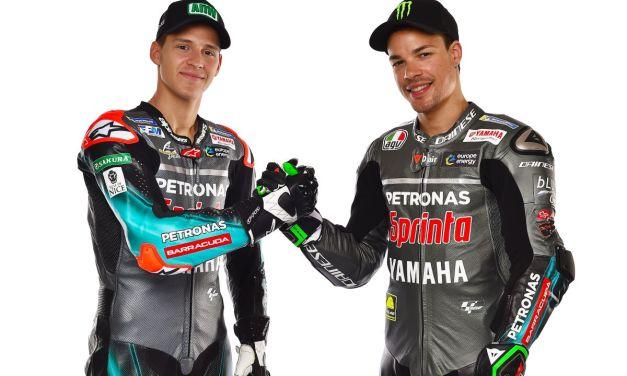PETRONAS Yamaha SRT en el mejor estado de ánimo para la histórica primera carrera de MotoGP