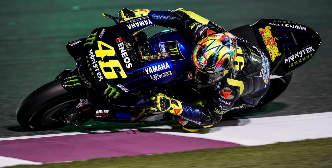 Viñales, Rossi y el nuevo Monster Energy Yamaha MotoGP a por todas en Qatar