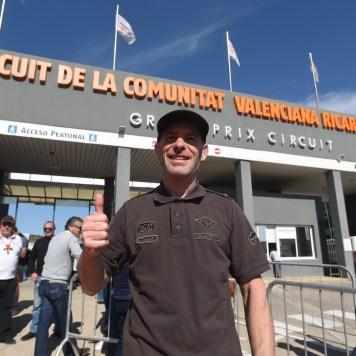 Regis Laconi, Racing Legends, Circuito Ricardo Tormo