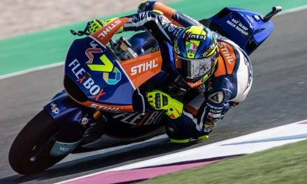 Baldassarri lidera el primer día en Qatar en Moto2
