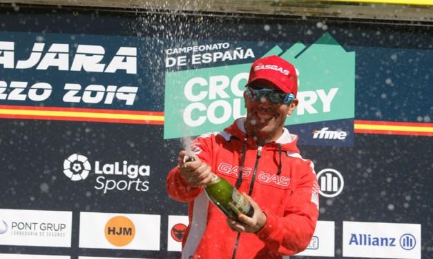 Barragán y GasGas en el podio de Guadalajara