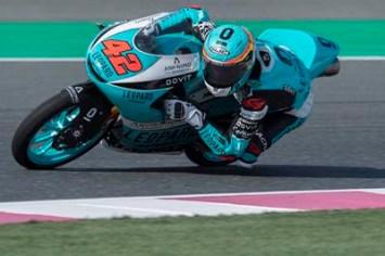 Marcos Ramírez, Leopard Racing Moto3, Test Losail