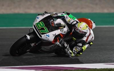 Iker Lecuona termina un fin de semana complicado en Qatar