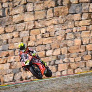 Álvaro Bautista, Circuito de Motorland Aragón, WSBK