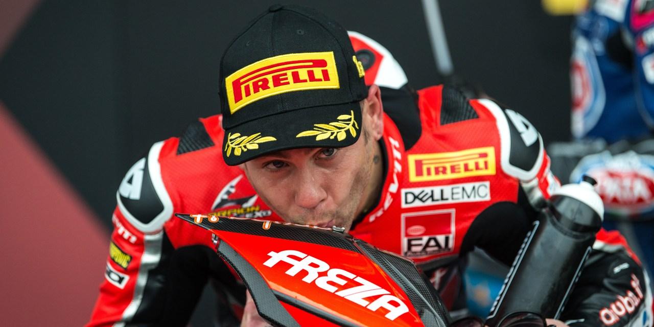 El Aruba.it Racing – Ducati llega a Motorland Aragón con Álvaro Bautista de líder