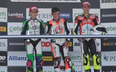 Doblete de Hugo Millán en PreMoto3 en el ESBK de Jerez
