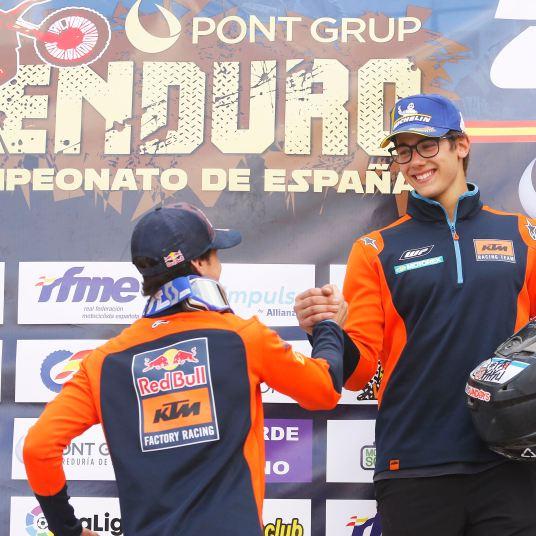 Campeonato de España de Enduro, Valverde del Camino, KTM