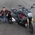 Emilio Zamora incorpora la nueva Ducati Diavel 1260 S en sus shows