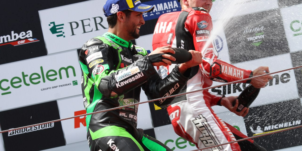 Maxi Scheib y el Kawasaki Palmeto PL Racing Team suman un nuevo podio en Montmeló