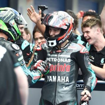 Quartararo, Morbidelli, Spanish MotoGP 2019