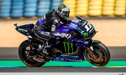Viñales y Yamaha marcan el ritmo en Le Mans