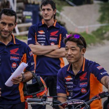 Fujinami, Repsol Honda Trial