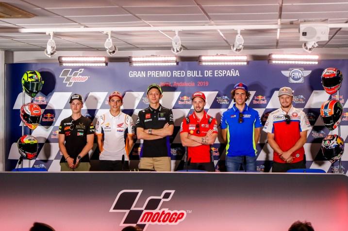 Rueda de Prensa Circuito de Jerez Ángel Nieto