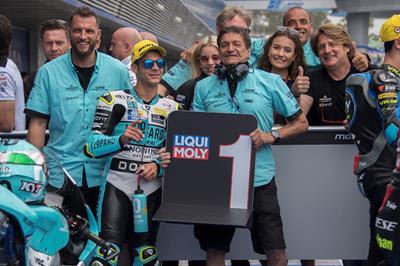 Lorenzo Dalla Porta hace su primera pole en Jerez y brilla Marcos Ramírez en casa