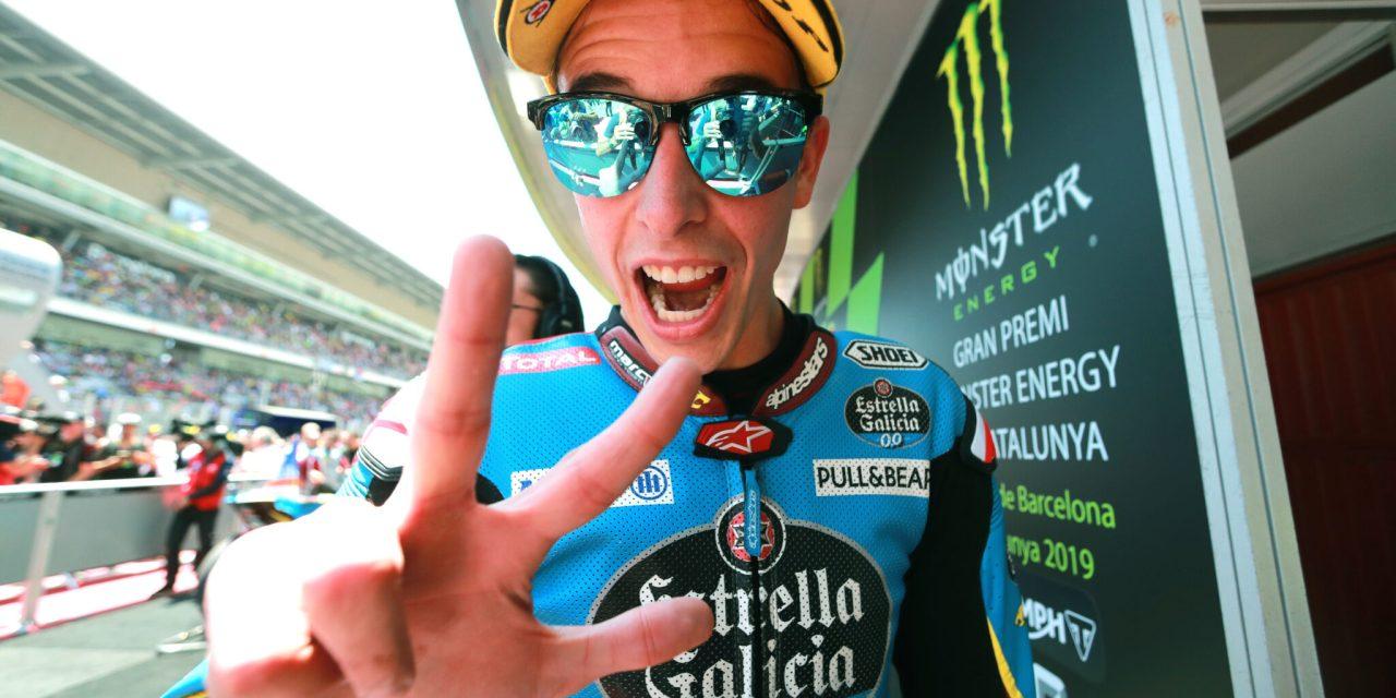 Tercera victoria consecutiva de Álex Márquez que vuelve a ganar en Montmeló