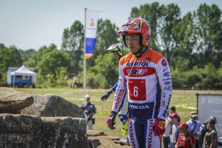 Fujinami, Repsol Honda Team Trial