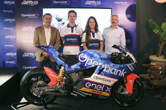Openbank Ángel Nieto Team MotoE, María Herrera, Nico Terol