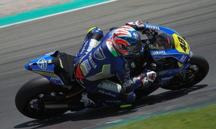 El Team Yamaha Stratos y Federico Sandi se quedan a las puertas del podio el Cheste